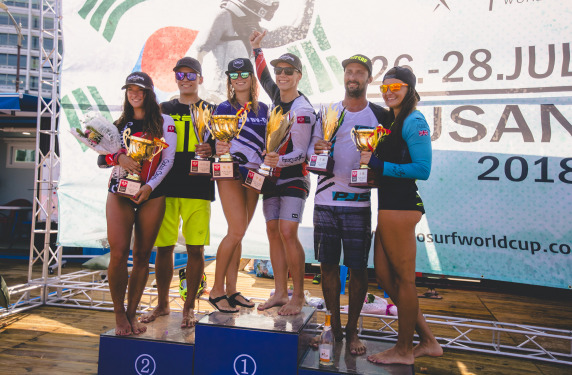MOTO SURF WORLD CUP 2019 в Корее